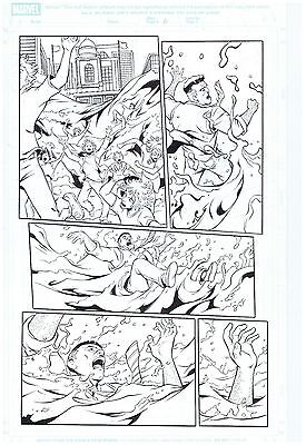 Spider-Man Original Published Art Page M.a. Spider-Man 32 Pg.#6 J. Jonah Jameson