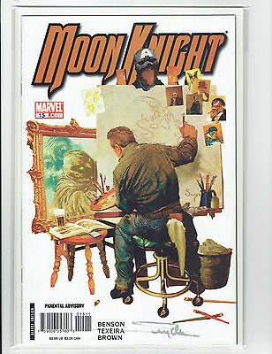 Moon Knight Arthur Suydam Signed Set. #15 And #21