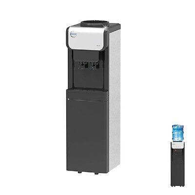 B19C Free Standing Bottled Water Cooler Dispenser Tower Chilled & Ambient
