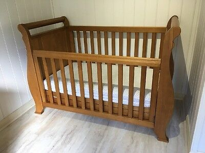 Boori Sleigh Cot Bed 3 In 1
