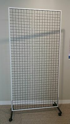 Metal grid stand / display stand