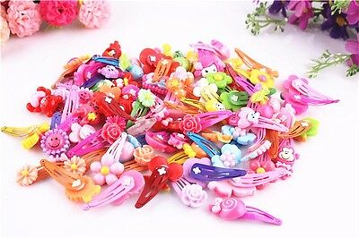 10 Pcs/lot Catoon BB Clips Kids Hair Baby Girls' Hairpin  Children access