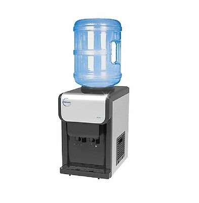 SB19C Bench Top Bottled Water Cooler Dispenser Tower Ambient & Cold