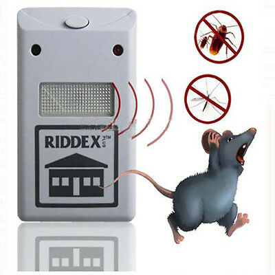 Repellent Anti Mosquito Ultrasonic Electronic Pest Control & Rodent Mouse Repell