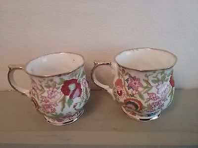 Hammersley QUEEN ANNE cups/mugs superb condition