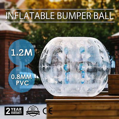 1.2M Inflatable Bubble Bumper Zorb Ball Football Human Non-toxic Soccer