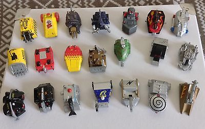 Robot Wars Collection Of 21 Mni Bots - Pullback And Go Friction Vehicles Diecast