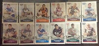 2008 Centenary Of Rugby League, used sheet set, Clean & Fresh