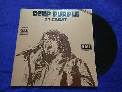"""Deep Purple """"24 Carat"""" Mexico Promotional Rare Mexican Issue Radio"""