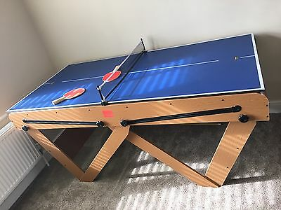 Riley 6ft folding Pool Table with Table Tennis Top
