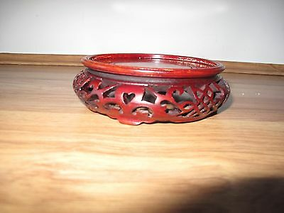 Antique chinese carved Rosewood stand