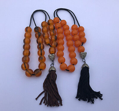 2 Greek Worry Beads Komboloi