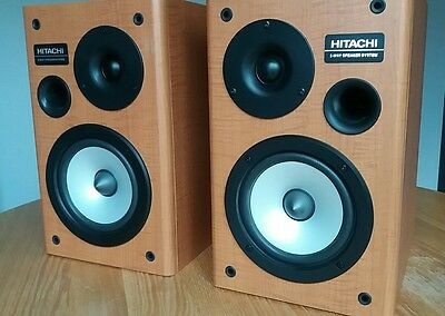 Pair of excellent condition Hitachi speakers 8 ohms 50w, awesome sound & fronts