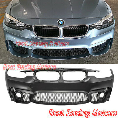 M3 F80 Style Rear Bumper 2 Outlets 2 Tips Per Outlet Fit 12 18