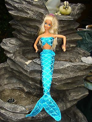 Handmade Lycra Mermaid Outfit . FIt Barbie fashion dolls