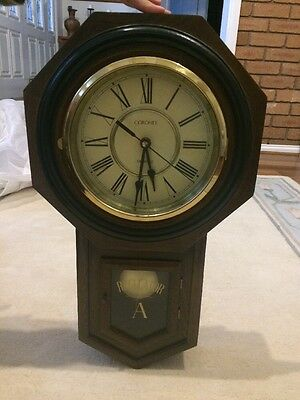 Wooden Wall Clock Battery Operated
