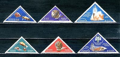 Panama 1964 set of six MH Space Exploration