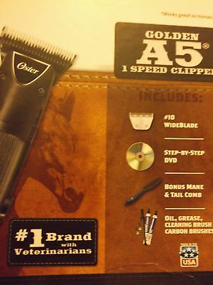 Oster Golden A-5 Clipper Kit, 078705-000-000 **BRAND NEW** **FREE SHIPPING***