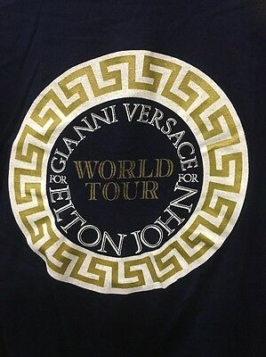 Original Elton John World Tour T Shirt By Gianni Versace The One