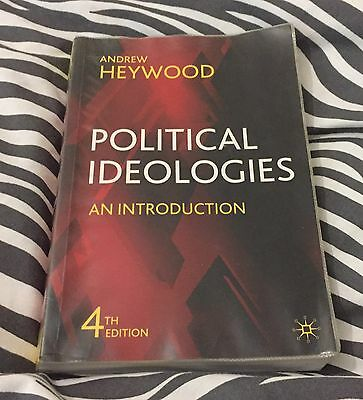 Political Ideologies: An Introduction by Andrew Heywood (Paperback, 2007)