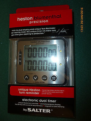 Heston blumenthal precision by salter electronic dual timer