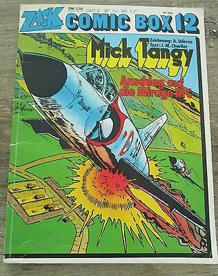 ZACK Comic BOX Nr. 12/1974 Mick Tangy, Anschlag auf die Mirage IIIC, sehr gut!