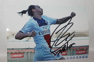 Autographe Zlatan Ibrahimovic sur photo 10*15 cm (signed in person)