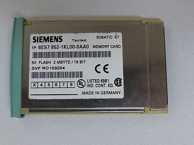 SIEMENS SIMATIC S7 MMC 2MB 6ES7 952-1KL00-0AA0 E-Stand: 3 (5011)
