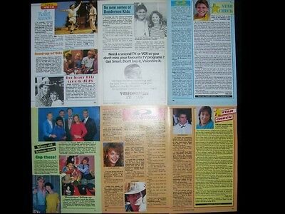 THE HENDERSON KIDS * Australian Magazine Clippings + Posters *