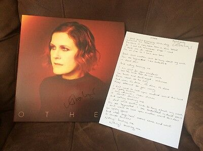 Alison Moyet - Other - Signed Vinyl LP & Signed Lyric Print & CD - Mint!