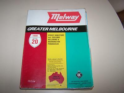 Melway 1990 Melbourne Street Directory Edition 20 - Victoria Police preferred