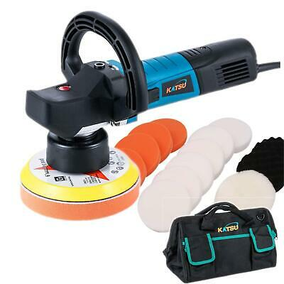 KATSU Dual Action Polisher Set 600W With Polishing Pads and Tool Bag