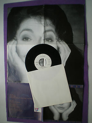 KATE BUSH Rocket Man GERMANY 45 1990 Fpold Out Poster Cover