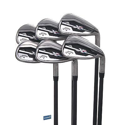 Callaway XR Graphite Irons 5-PW /  Senior Shaft Project X 4.5