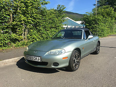2003 MAZDA MX-5 1.8i NEVADA Convertible MK 2.5 Long MOT Standard Car