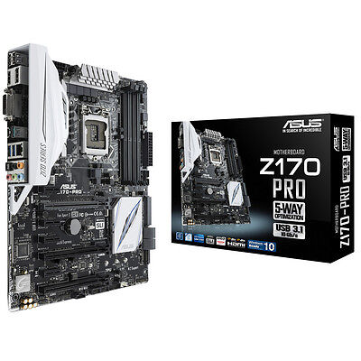 Placa base ASUS Z170-PRO LGA1151 USB3/SATA3 HDMI / Z170 Chipset