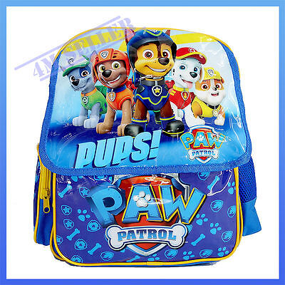 Kids Boys Shoulder School Bag Backpack Paw Patrol Rescue Large Rucksack Campus