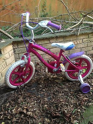 Child's First Bicycle With Stabilisers Suitable For 3-5 Year Old