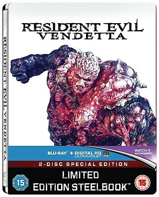 Resident Evil: Vendetta (Steel Book with UltraViolet Copy) [Blu-ray]