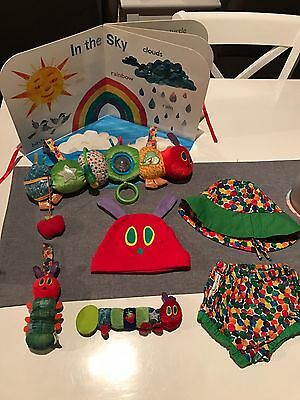 Hungry Caterpillar Nursery Bundle Books Toys Clothes