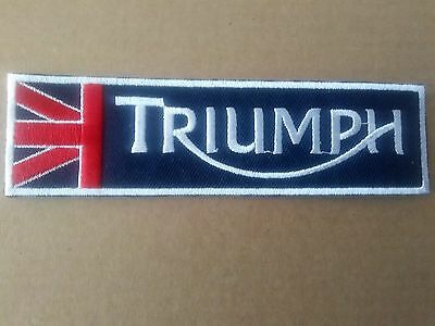 Triumph Motorcycle Or Car  Style Sew Or Iron On  Patch