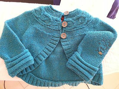 ♥♥♥ Gilet / Cardigan CATIMINI Taille 8 ans ♥♥♥