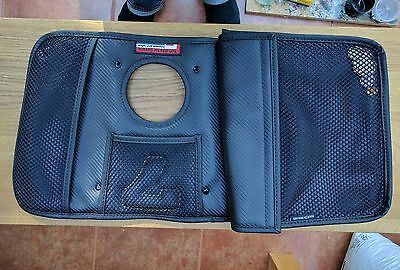 Caterham 7 SV touring tunnel bag - carbon effect leather
