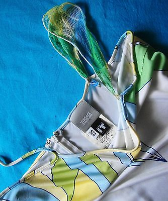 DRESS  woman vintage 90's VERSACE JEANS COUTURE TG 30/44 circa M made Italy Rare