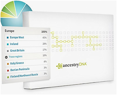 AncestryDNA: Genetic Testing - DNA Ancestry Test Kit - New , FREE FAST SHIPPING
