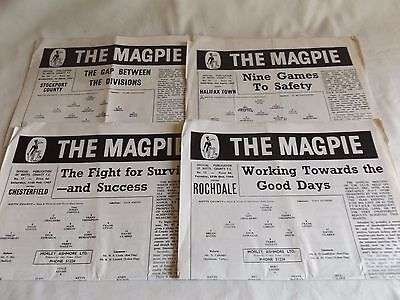 Notts County 1966/1967 Home Programmes