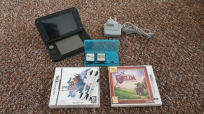 Nintendo 3DSXl good condition + 4 games, power supply, stylus