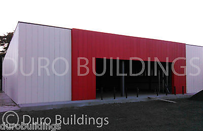 DuroBEAM Steel 100x100x17 Metal Prefabricated Clear Span Building Kit DiRECT