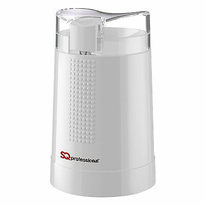 Sq Professional Electric Whole Coffee Bean Grinder Nut Spice