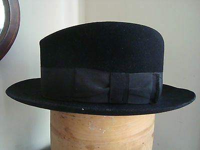 Vintage Trilby Hat By Poster & Co In Excellent Condition